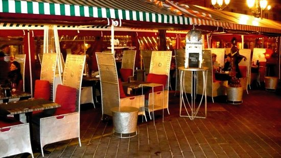 Cafe Del Arte: The terrace of the Caffé dell'Arte