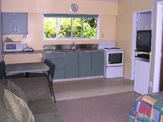 Oakura Beach Motel: 1 Bedroom Unit Lounge