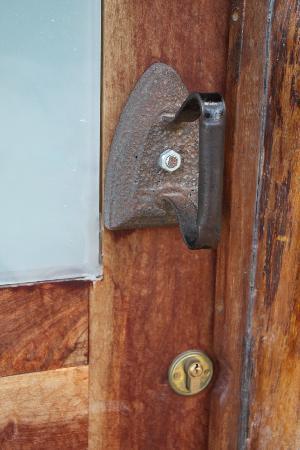 KolKol Mountain Lodge: Front Door Handle