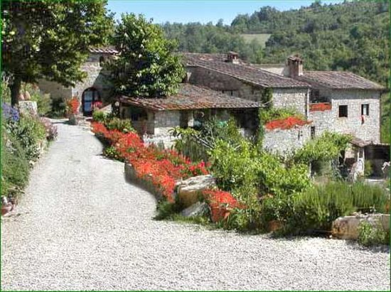 partial view of Poderi Val Verde