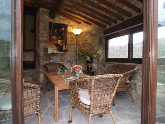 """Poderi Val Verde: """"Tana"""" - wintergarden/livingroom"""