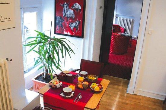 Hotel du Taur: salle petit-déjeuner
