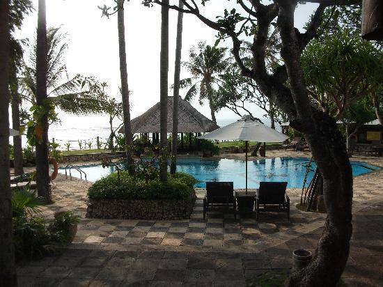 Hotel Santika Premiere Beach Resort Bali: View from room