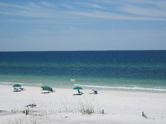 The Breakers at Fort Walton Beach: View from our balcony