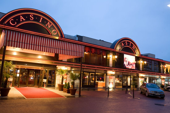 Montreux, Suiza: Entrée principale du Casino