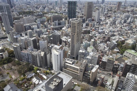 Somerset Azabu East: Neighbourhood view from Tokyo Tower