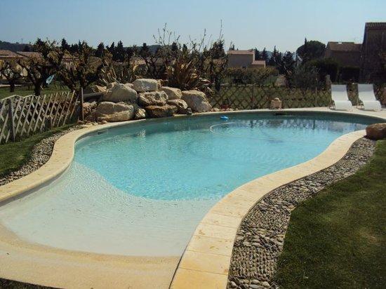 Les Chambres D'Hotes de Jade : La piscine