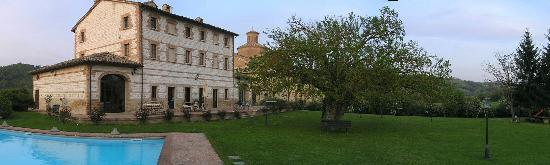 Country House Parco Ducale: all'imbrunire