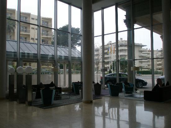 Gran Palas Hotel: la recepción