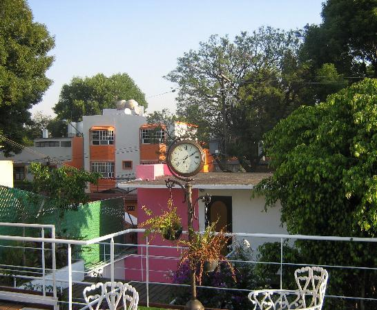 Hostal Cuija Coyoacan : morning view from rooftop