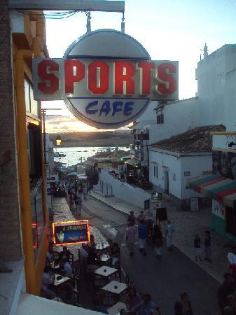 Clube Alvorférias: view from sports bar