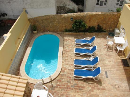 Casa Paula: the pool and patio