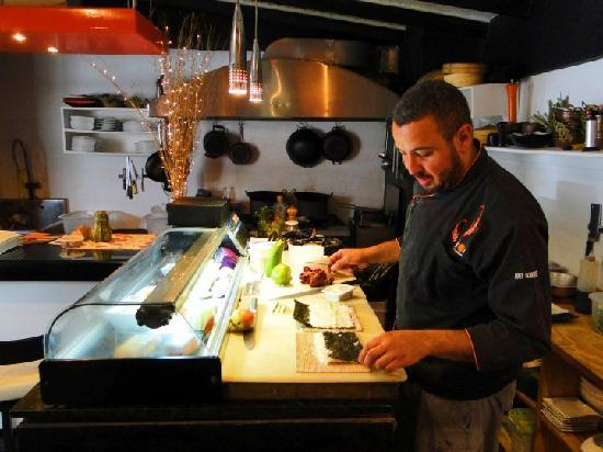 Koi anti Restaurant: el chef