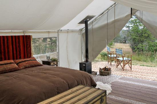 Campo Cielo Grande: Inside tent