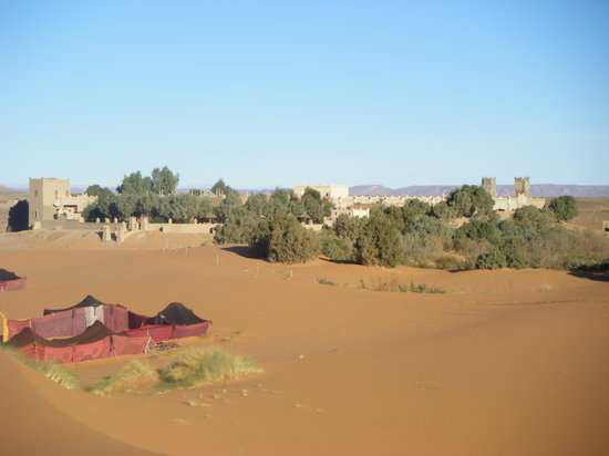 Erg Chebbi, Μαρόκο: Auberge