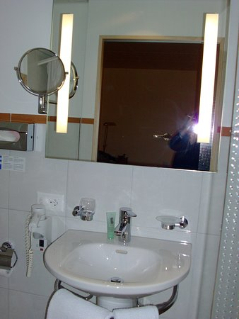 Engimatt City-Gardenhotel: view of the bathroom