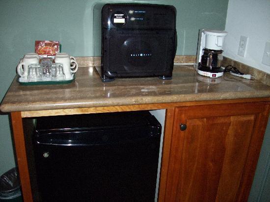 Moonstone Landing: MIcro/fridge/coffee maker