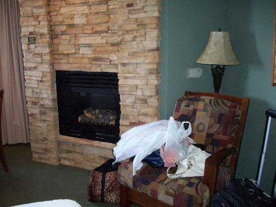 Moonstone Landing: Chair and Fireplace