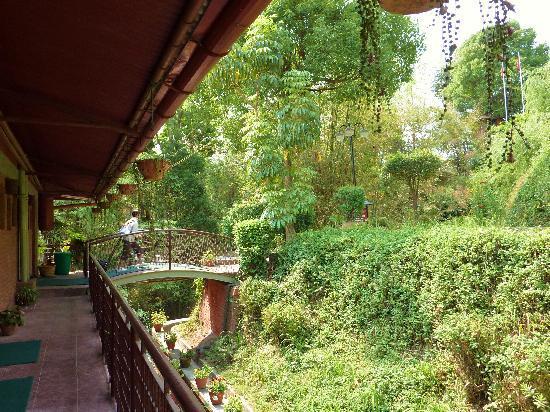 Dhulikhel Lodge Resort : jardin
