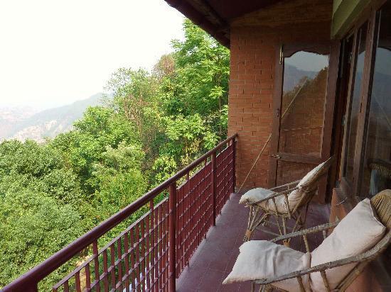 Dhulikhel Lodge Resort : balcon