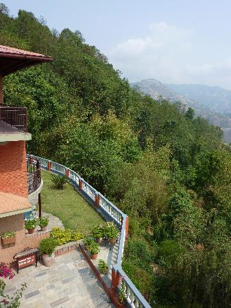 Dhulikhel Lodge Resort : vue latérale
