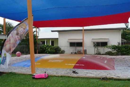 Kurrimine Beach Holiday Park: A jumping pillow to ad to the fun