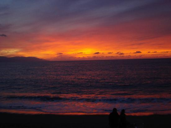 Canto Del Sol Plaza Vallarta: One of many gorgeous sunsets from the patio