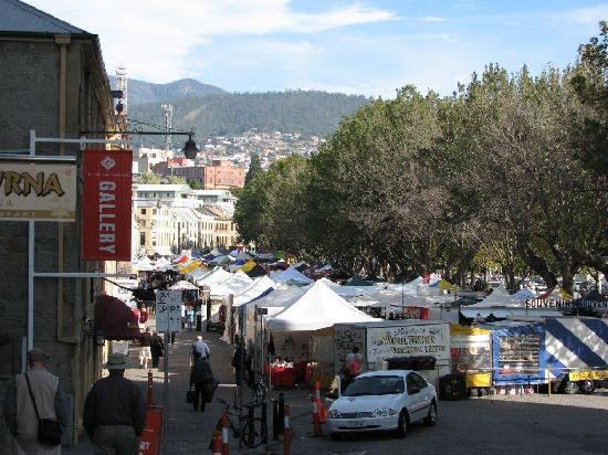 Hobart, Australia: Salamanca Markets on Saturday
