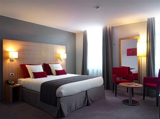 Husa de la Couronne: Hotel standard room