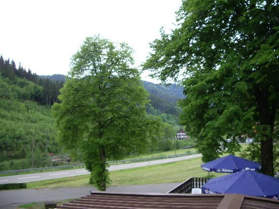 Hotel Restaurant Ochsenwirtshof: View from our room