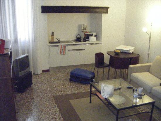 Residence Ca' Foscolo: Living area