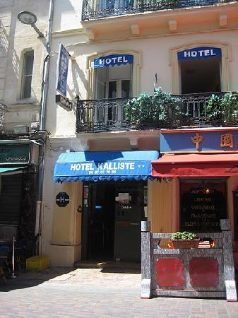 Hotel Kalliste: entrance