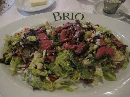 BRIO Tuscan Grille: The Steak Salad