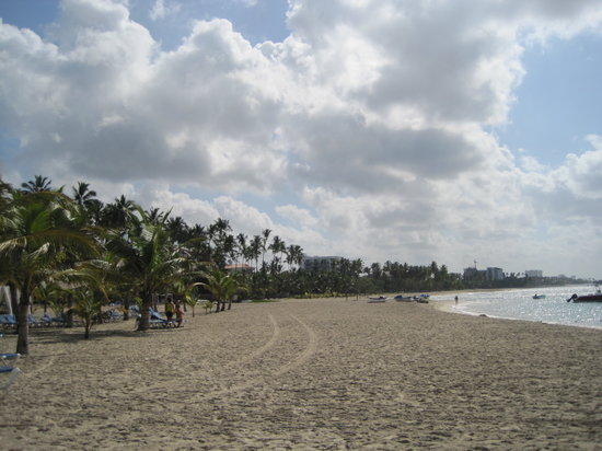Juan Dolio, République dominicaine : the beach