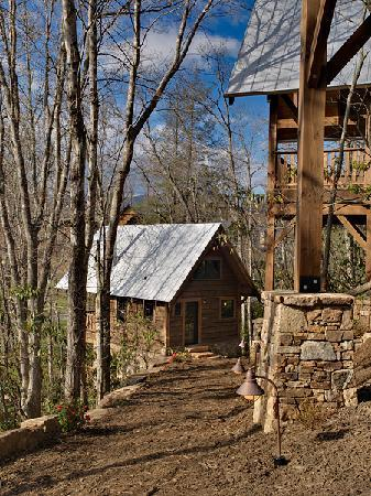 Woodpecker 39 s hollow picture of cheshire cabin for Tripadvisor asheville nc cabin rentals