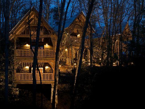 Cheshire cabin treehouse rentals lodge reviews black for Tripadvisor asheville nc cabin rentals