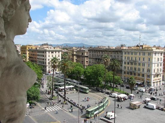 A View of Rome: Looking toward downtown Rome