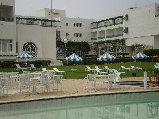 El Mouradi Beach : Des jardins splendides