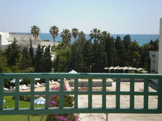 El Mouradi Beach : Vue de la chambre 222