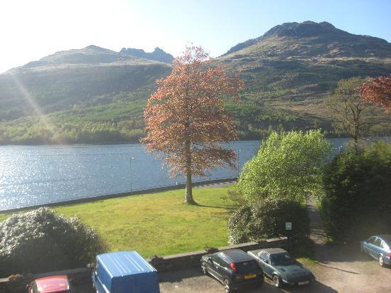 Arrochar, UK: view from bed room