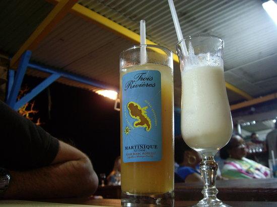 Sainte-Luce, Μαρτινίκα: un bon repas pour parfaire la journée...
