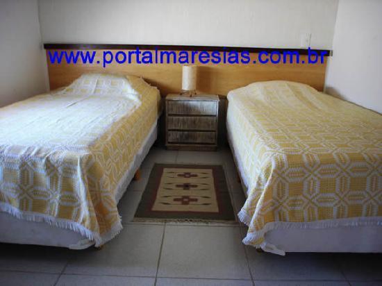 Portal Maresias Sun House Flats: SINGLE`S BEDROOM