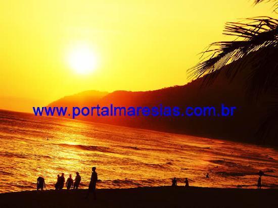 Portal Maresias Sun House Flats: MARESIAS SUN SET