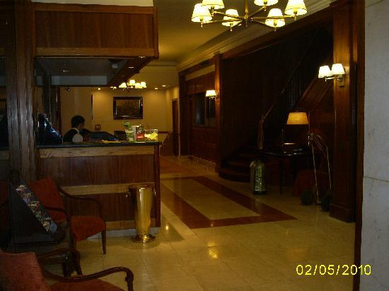 Regis Orho Hotel: Recepción