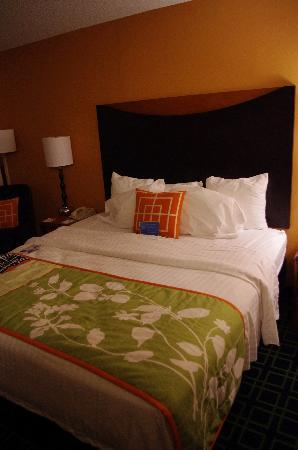 ‪‪Hattiesburg‬, ‪Mississippi‬: Fairfield Inn Hattiesburg - King Room‬