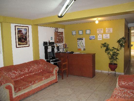 Pirwa Hostel Machu Picchu: Check in