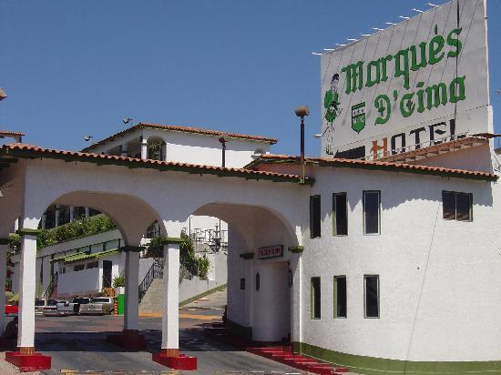 Hotel Marques de Cima: main entrance