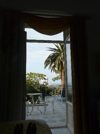 Luxury Villa Excelsior Parco: Vista desde nuestro cuarto