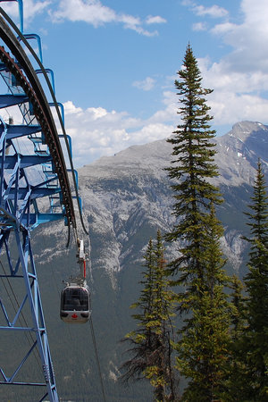 Banff, Kanada: Up Up and Away