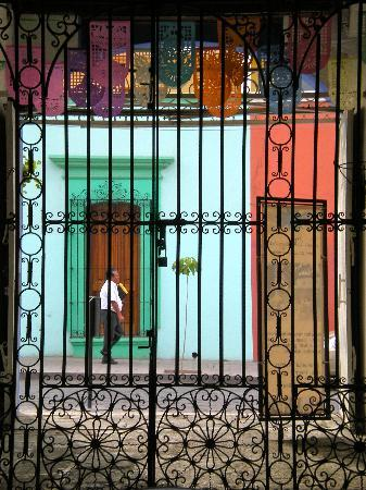 Hotel Las Mariposas: Street View from Within the Courtyard